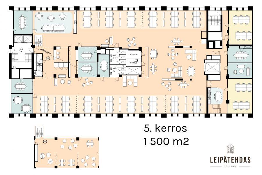5. krs toimisto - esimerkkipohja